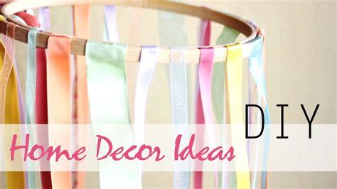 diy  easy summer home decor ideas youtube