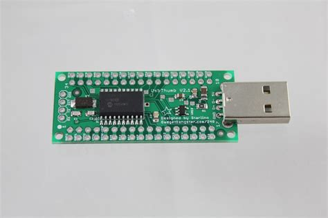 Usb Emulator Untuk Keyboard Usb Thumb Sized Pic Development Platform Pic18f14k50 Starlino Electronics