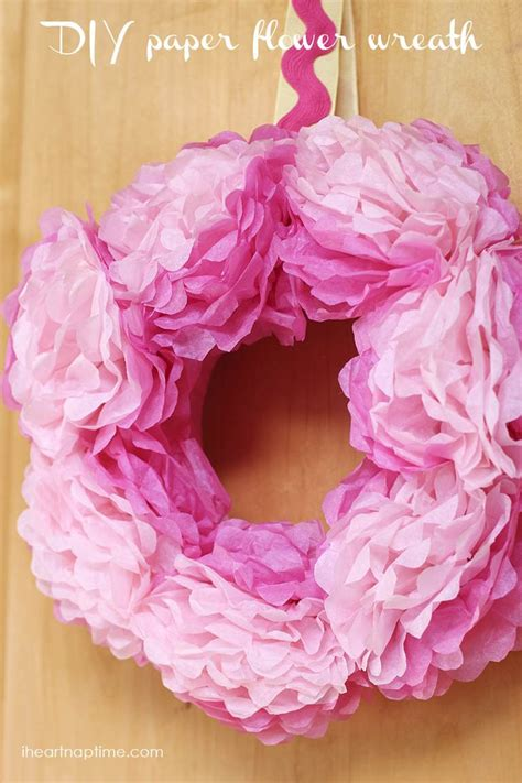 How To Make Tissue Paper Decorations For Baby Shower - 25 unique tissue paper wreaths ideas on