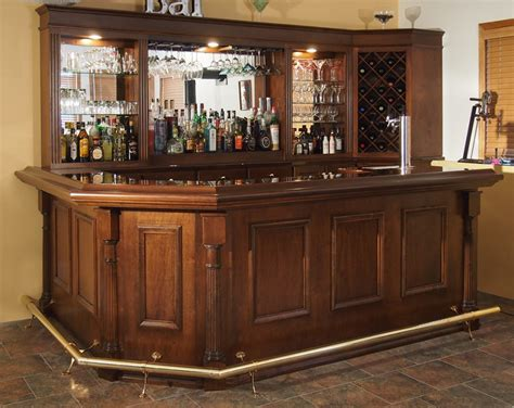 at home bar custom home bars
