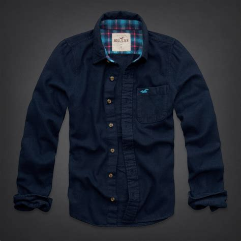 solid color flannel shirts hype rakuten global market hollister flannel shirt