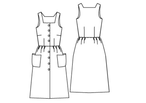 drawing a pattern for dress the great british sewing bee review free sleeveless top