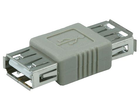 Usb Adaptor usb 2 0 a to a coupler adapter monoprice