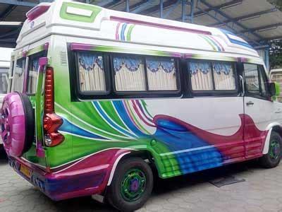 auto designers car tempo traveller buses van