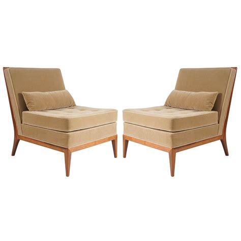 mid century modern slipper chair mid century modern pair of mccobb slipper chairs for sale