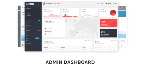 bootstrap layout options neon bootstrap admin theme site templates themeforest