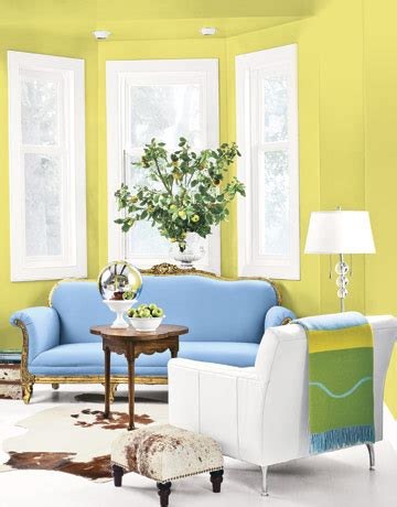 blue and yellow living room a fresh take on yellow and blue decorating the decorologist