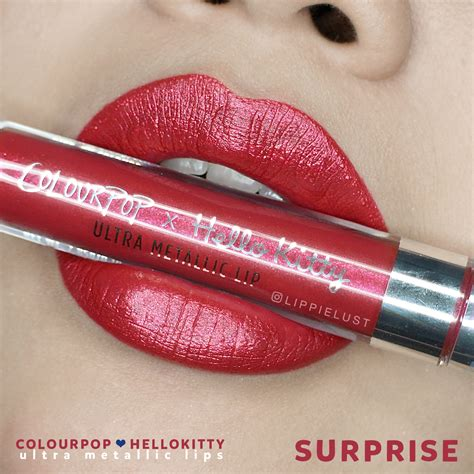Baru Diamore Top Tassel Order my colourpop x hello collaboration collection lippielust