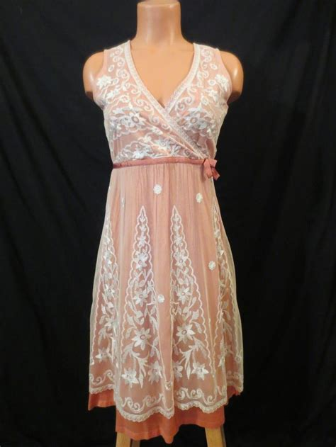 Bombshell Bargains by Odille Anthropologie Fancy Lace Dress 29 99 At Johnny