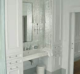 Bathroom Mirror Tiles Mirrored Mosaic Tiles Interior Design Inspiration Designs