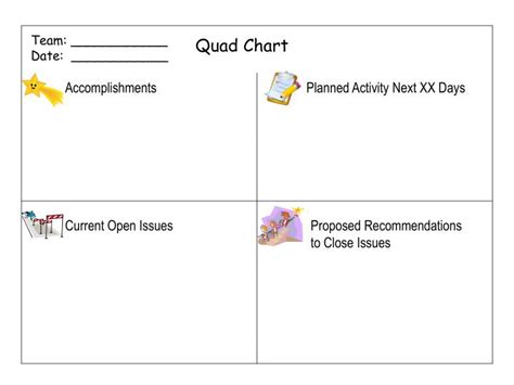 pin quad chart template ppt on pinterest