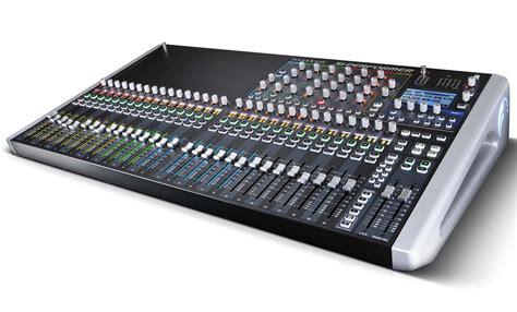 Mixer Audio 32 Channel soundcraft si performer 3 32 channel digital live sound