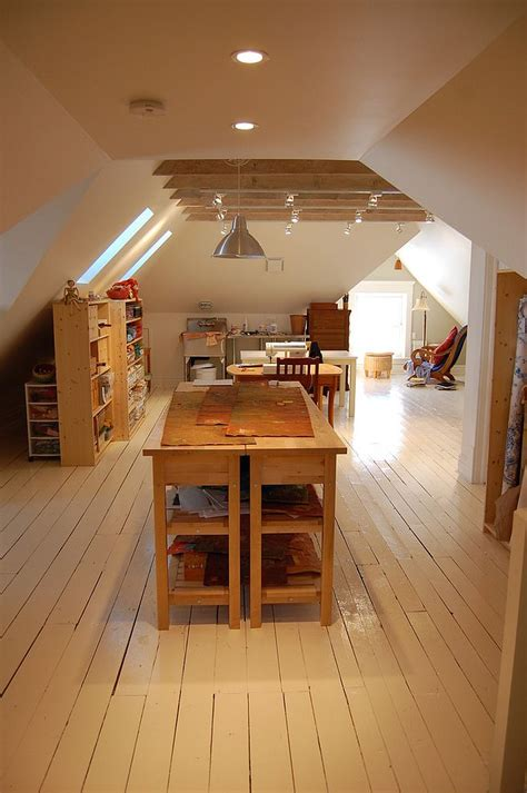 attic work space multipurpose magic creating a smart home office and