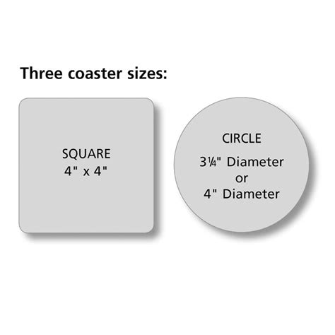 coaster size template coaster size template choice image template design ideas