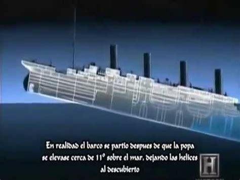imagenes reales del verdadero titanic el verdadero hundimiento del titanic youtube
