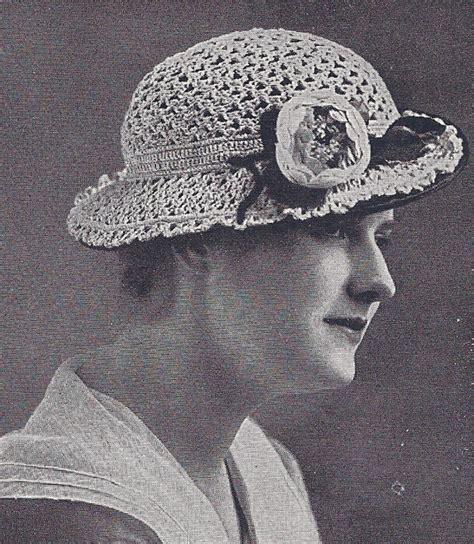 crochet pattern vintage hat vintage crochet pattern fancy hat crocheted lace 1920s ebay