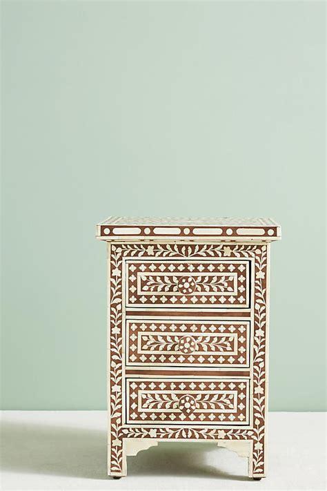 Bone Inlay Nightstand by Bone Inlay Seven Drawer Dresser Anthropologie