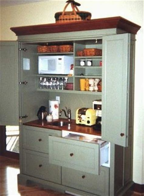 Mini Kitchen Armoire by Armoire Hospitality Centers Working Pantries Yestertec