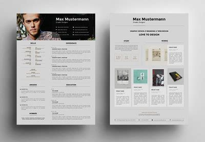 Best Resume Help Websites by 25 Creative Resume Templates To Land A New Job In Style