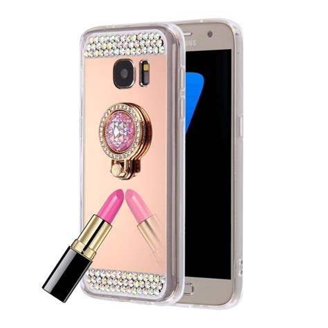 Mirror Casing For Samsung Galaxy Note 5 for samsung galaxy note 5 n920 encrusted electroplating mirror protective cover