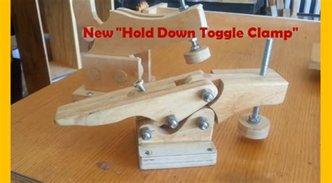 video diy toggle clamp miniature
