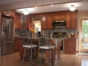 Brown Kitchen Cabinets by Brown Kitchen Cabinets Sienna Door Style Kitchen