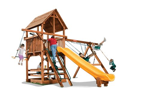 swing set playhouse playhouse 6 a woodplay playsets