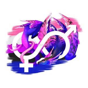 Gray And White Duvet Genderfluid Pride Dragon By Kaenith