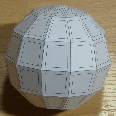Make Paper Sphere - paper hebdomicontadissaedron