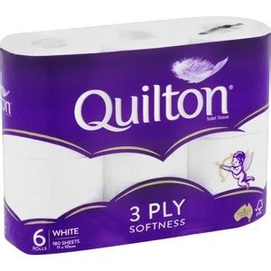 quilton  ply white toilet tissue  pack     coles ozbargain