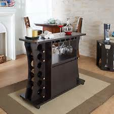 Locking Bar Cabinet Buffet Table Bar Cabinet Ebay