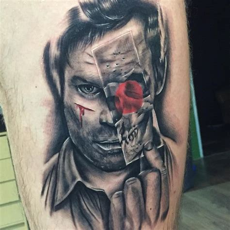 dexter tattoo amazing by welhoink inkspiration