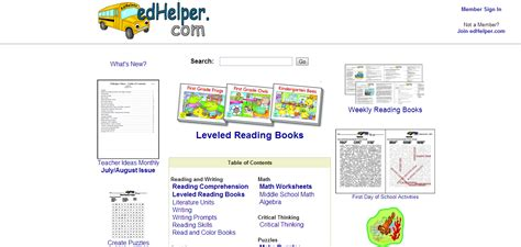 Edhelper Science Worksheets by Edhelpercom Math Reading Comprehension Themes Lesson