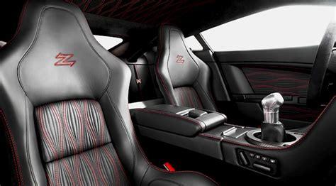 Treadwell Upholstery by Aston Martin S Zagato Wave Pleat