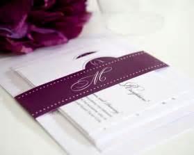 a wedding invitation circle monogram wedding invitations wedding invitations
