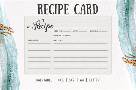 mac pages templates recipe card free cooking recipe card template rc2 creativetacos