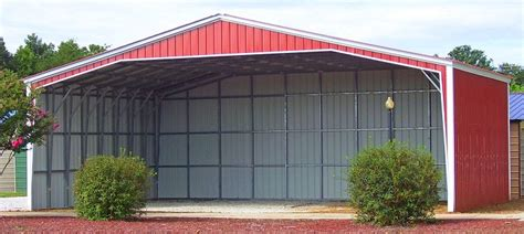Open Carports For Sale 36x36 Vertical Carport Metal Building Alan S Factory