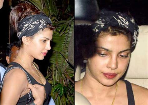 priyanka chopra without makeup pics priyanka chopra spotted glum without makeup view pics