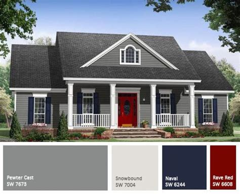 Colors For Small Home Best 25 Exterior Color Schemes Ideas On