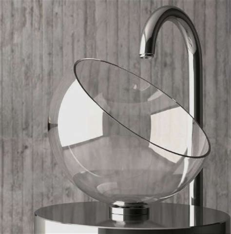 glass wash basins by glass design moon