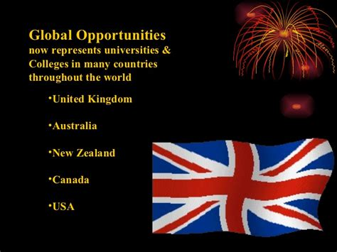 Opportunities In New Zealand For Mba by Study In Uk Australia New Zealand Canada And Usa