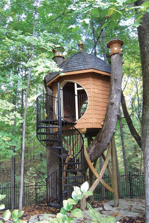 treehouse in backyard unique treehouse makes great backyard addition beautiful