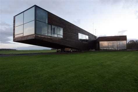 Cantilever House | contemporary cantilever house in lithuania most beautiful