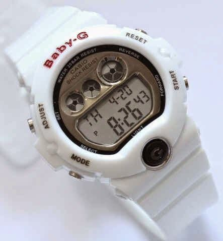 Jam Tangan Rubber Pink List White Kw 1 casio g shock kw baby g bg6900 digital kw