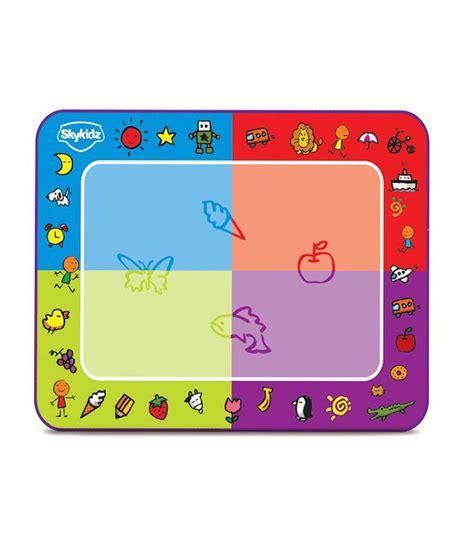water doodle mat india mitashi sky kidz water doodle classic mat buy mitashi