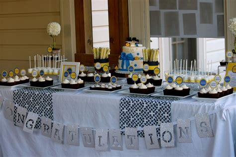 Graduation Table Decorations by Cassie S Graduation Dessert Table Thecouturecakery