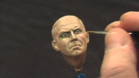 Painting 1 35 Faces by Painting A Large Scale Figure Without An Airbrush Part 2
