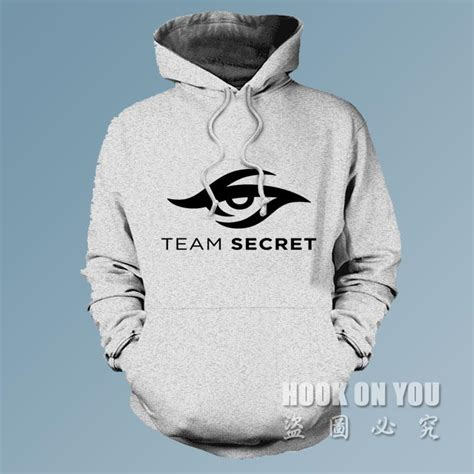 Hoodie Team Secret Dota Ht Banaboo Shopping dota2 gaming team secret hoodies sweatshirts coat clothing winter autumn fleece