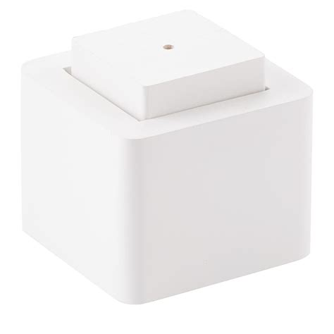 white bed risers white solid wood bed risers the container store