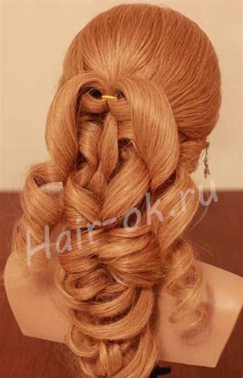 diy hairstyles curls diy elegant braided curls hairstyle